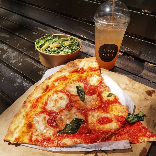 SLICE + SODA Serving up New York Style Pizza Soon on the Main